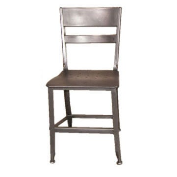 Delicieux Vintage Industrial Toledo Metal Chair For Sale
