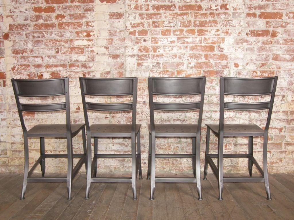 Vintage Industrial Toledo Metal Chair For Sale At 1stdibs