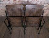 Heywood - Wakefield Vintage Wood & Cast Iron Theater Seating image 7