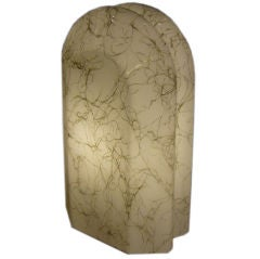 Tall Modernist Murano Glass Table Lamp