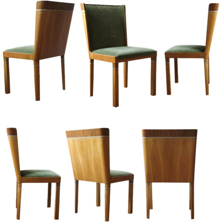 rare set of swedish art deco dining chairs by carl bergsten at deco dining chairs vintage art art deco dining chairs