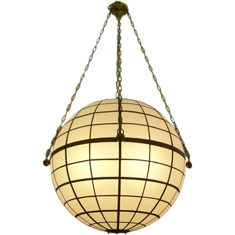 globe lighting fixture. oversized sirmos globe lighting fixture t