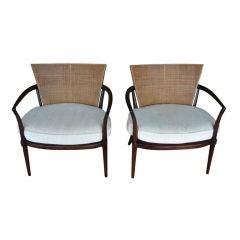 Pair of Bert England Low Armchairs