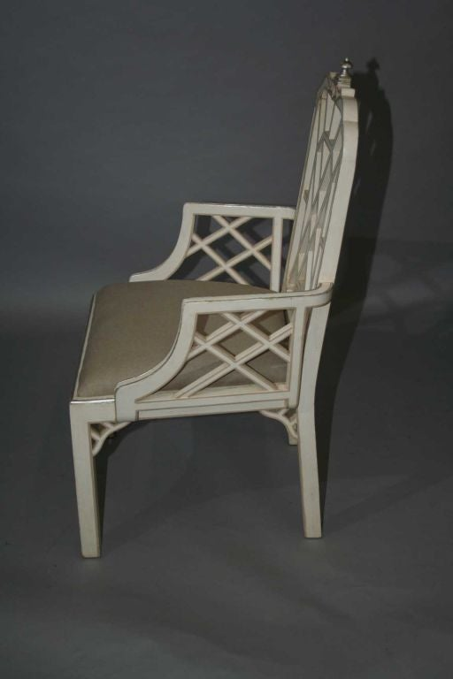 Set of 8 chinese chippendale style dining chairs at 1stdibs for Chinese style furniture for sale