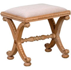 English William IV Stool