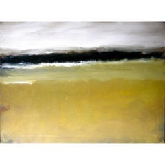 Victor Mirabelli Impressionist oil on canvas landscape