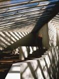 Richard Schulman Photo of Philip Johnson in his studio gallery