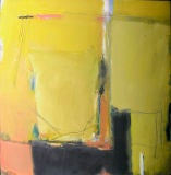 Victor Mirabelli abstract color field painting oil on canvas
