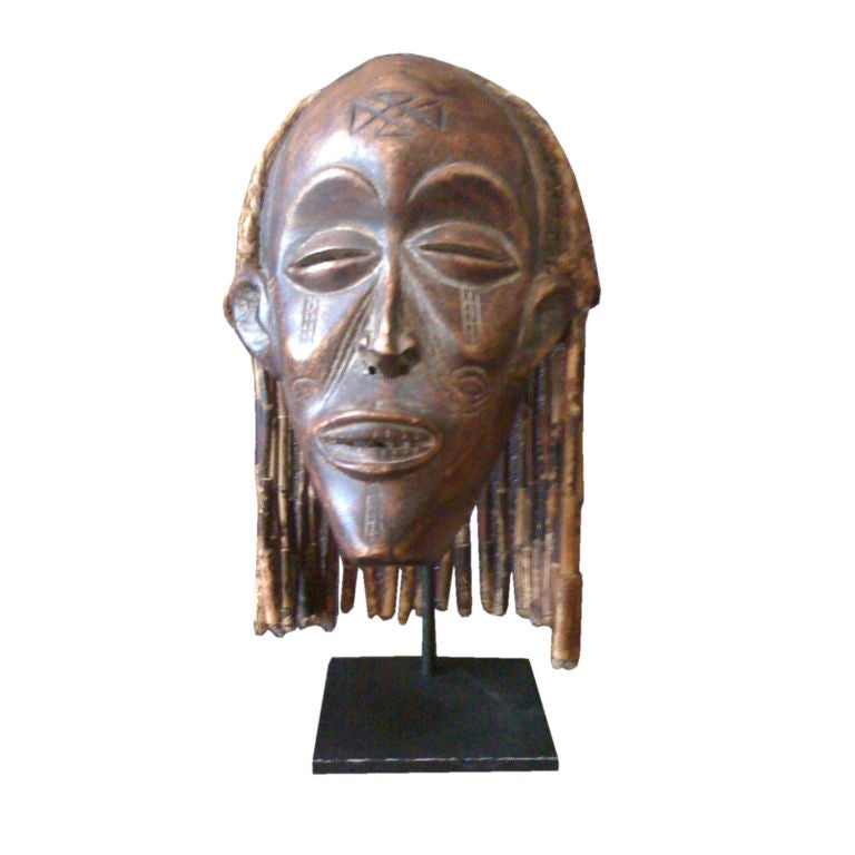 Tchokye Tribal Mask At 1stdibs