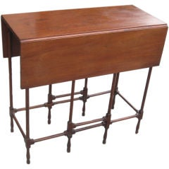 A George III Mahagany Spider  Gateleg Table