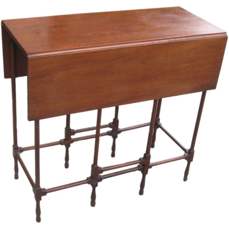 A george iii mahagany spider gateleg table at 1stdibs - Gateleg table with chairs ...