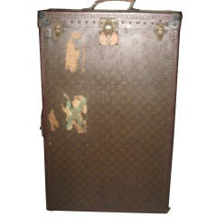 Vintage Louis Vuitton Miniature Steamer Trunk