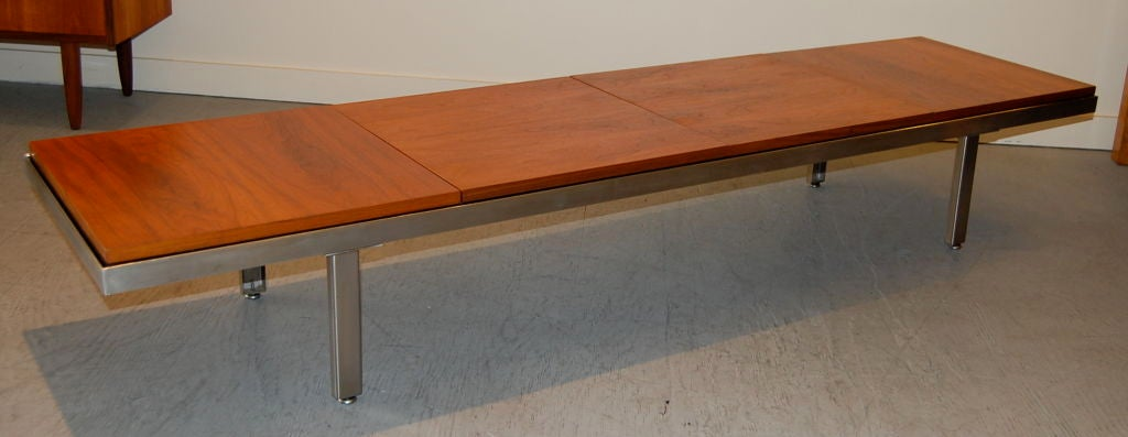 george nelson contract bench at 1stdibs. Black Bedroom Furniture Sets. Home Design Ideas
