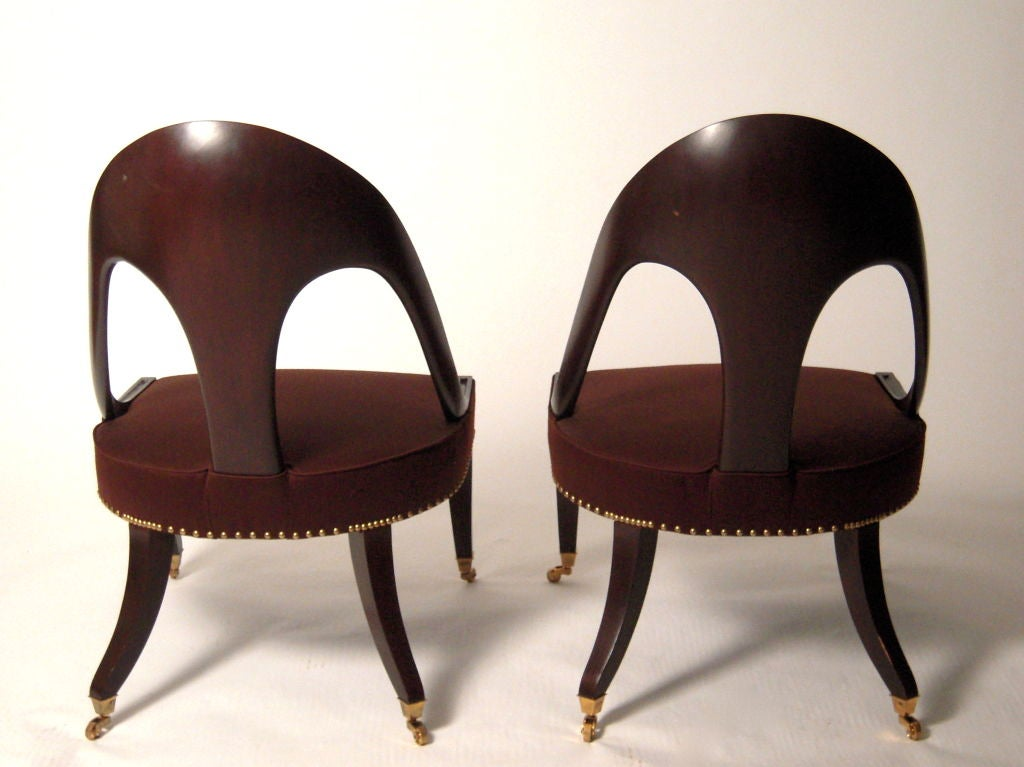 PAIR OF REGENCY STYLE CHAIRS At 1stdibs