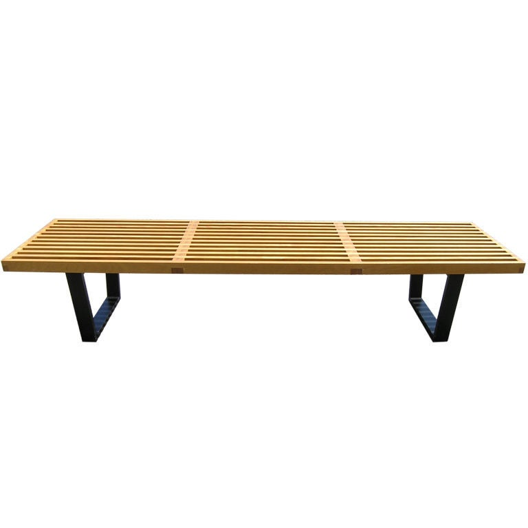 72 Slat Bench By George Nelson For Herman Miller At 1stdibs