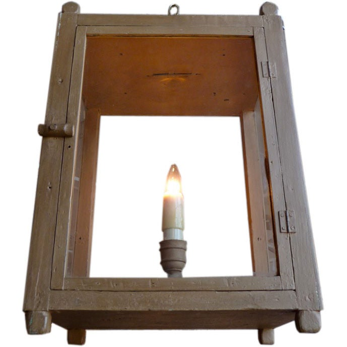 19th Century Painted Lantern