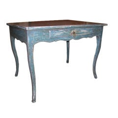 Blue Painted Desk