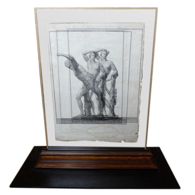 Triple struck etching