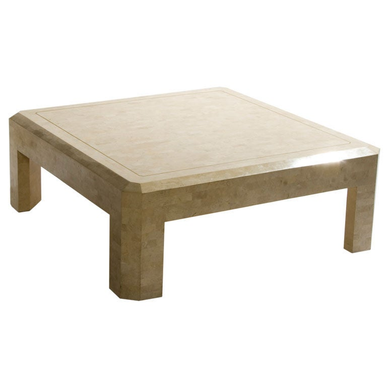 Fossilzed Stone Coffee Table By Maitland Smith At 1stdibs