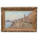 Venice Scene - Oil on Canvas
