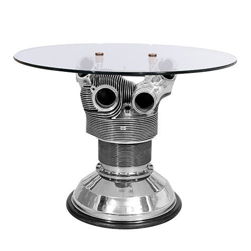 Coffee Table From A Boeing Radial Aeroplane Engine C1950s