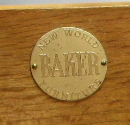 Pair  Michael Taylor New World Walnut Commodes By Baker For Sale 6