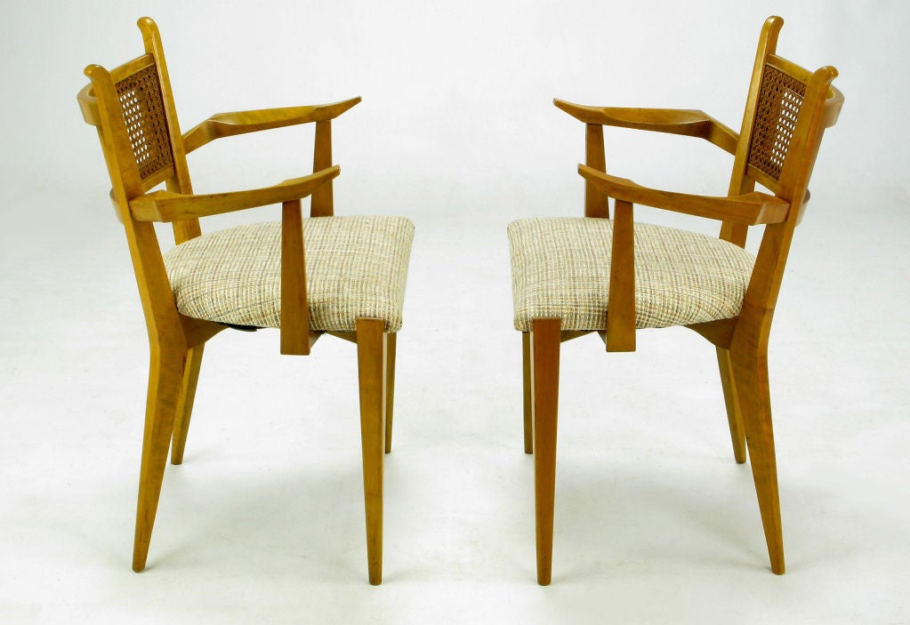 Set Six Edmond Spence Swedish Dining Chairs At 1stdibs