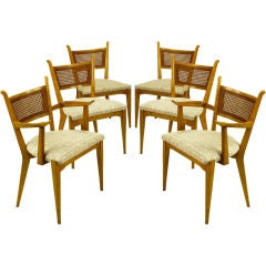 Set Six Edmond Spence Swedish Dining Chairs