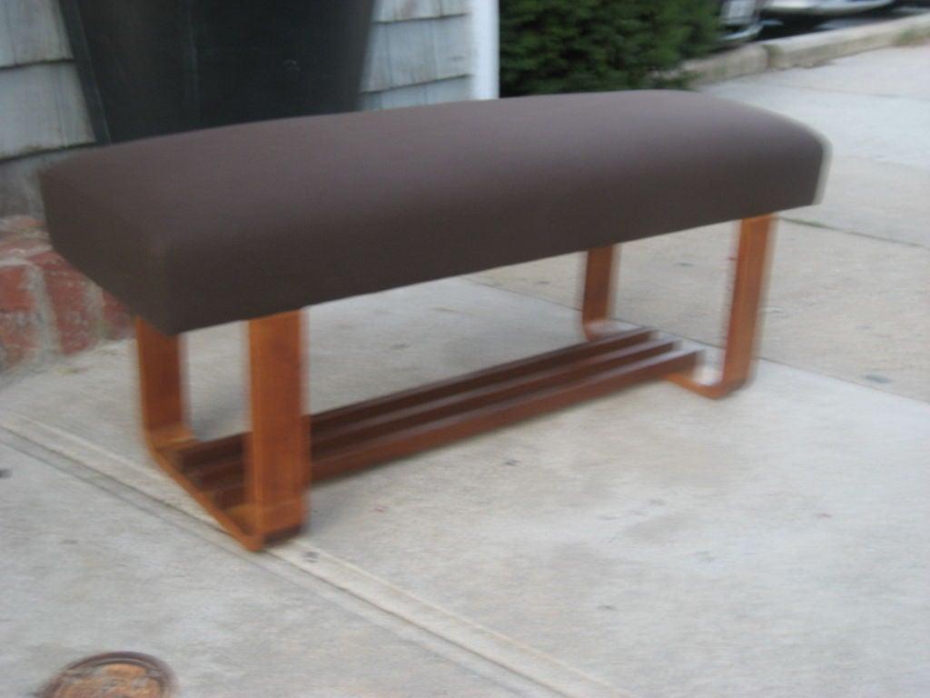 Modern Wood Bench : Modern Wood Bench at 1stdibs