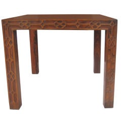 Parson's Style Chippendale Rosewood Table