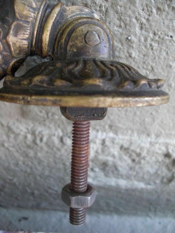 Antique Bronze Dolphin Door Knocker At 1stdibs