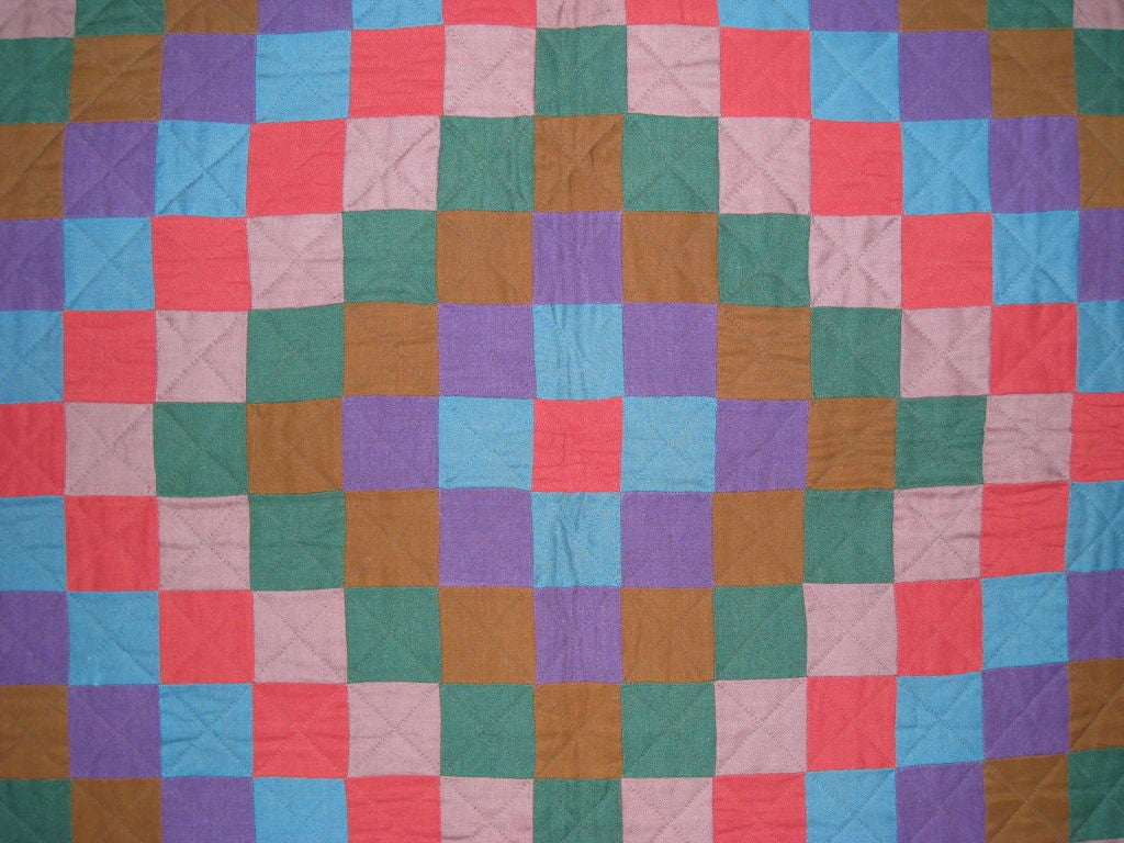 Wool Amish Quilt.:
