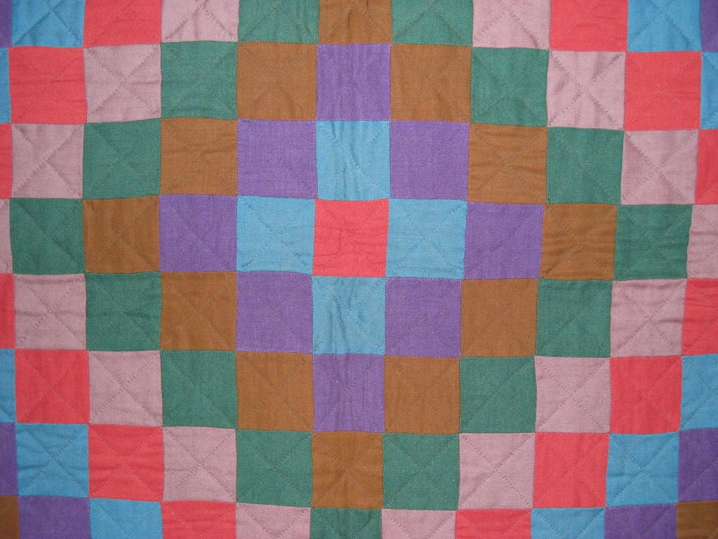 """Amish Quilt.:   """"Sunshine and Shadow"""" For Sale 3"""