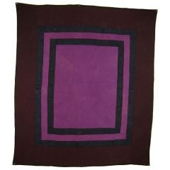 Amish Quilt:  Center Square