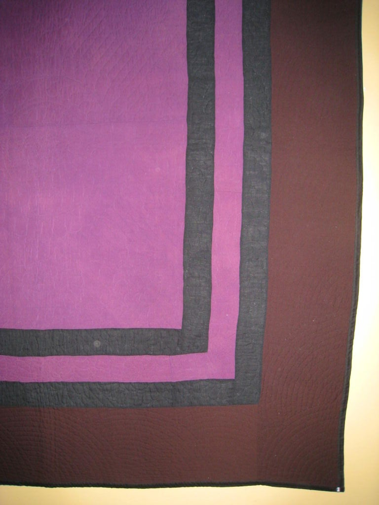 Amish Quilt:  Center Square For Sale 1