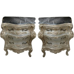 Pair of French Bombay Chests