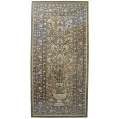 Early 19th C. Framed Embroidered  Turkish Textile