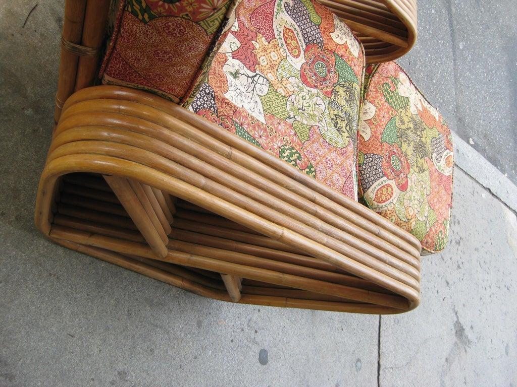 Paul Frankl 6 Banded 8 Piece Living Room Set For Sale 4