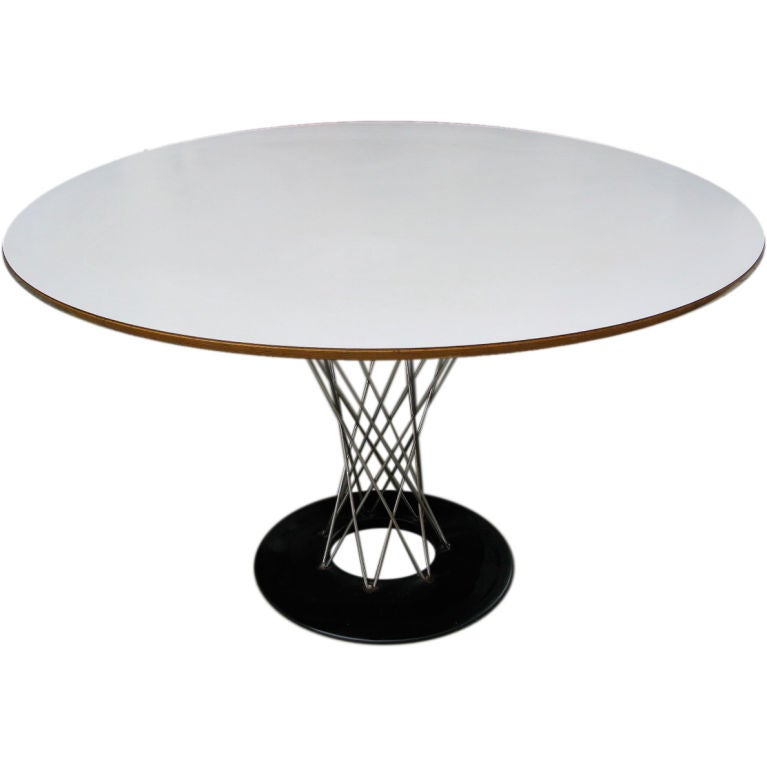 Isamu Noguchi For Knoll Cyclone Dining Table At 1stdibs