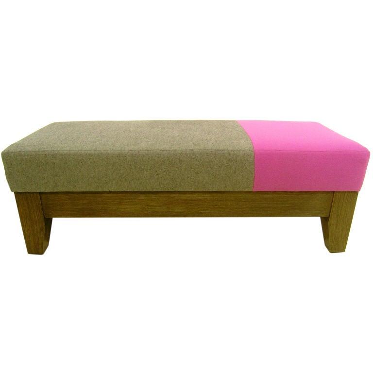modern bench ottoman at 1stdibs. Black Bedroom Furniture Sets. Home Design Ideas