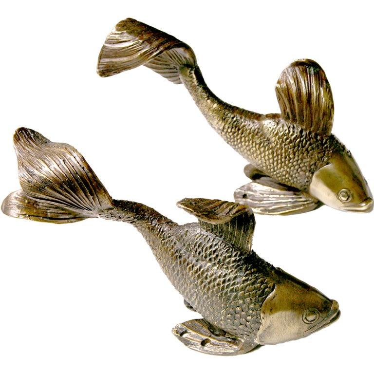 Angel Fish Door Handles At 1stdibs