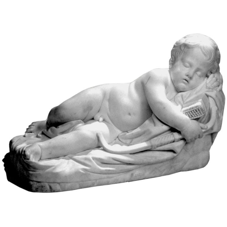 Marble Cupid Figure 1