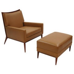 Easy Chair and Ottoman by Paul McCobb