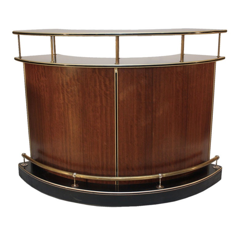 Art Deco Counter Bar At 1stdibs