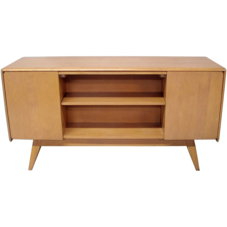 A Room Divider Credenza by The Heywood Wakefield Co at