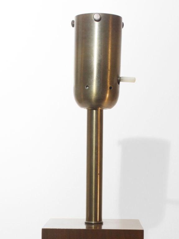 minimalist mid century modern lamp at 1stdibs. Black Bedroom Furniture Sets. Home Design Ideas