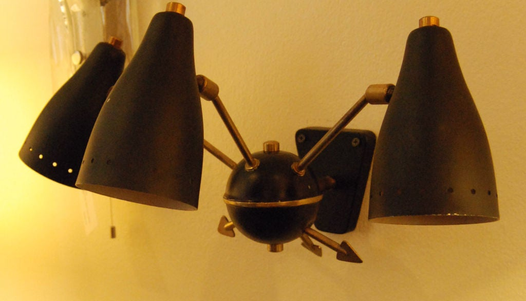 1950s French Wall Sconce For Sale 1