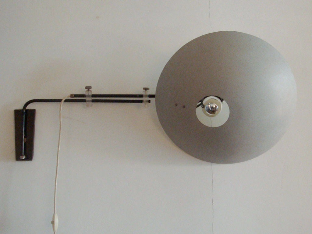 Wall Lamps Philips : Philips Wall Lamp by Louis Christiaan Kalff at 1stdibs
