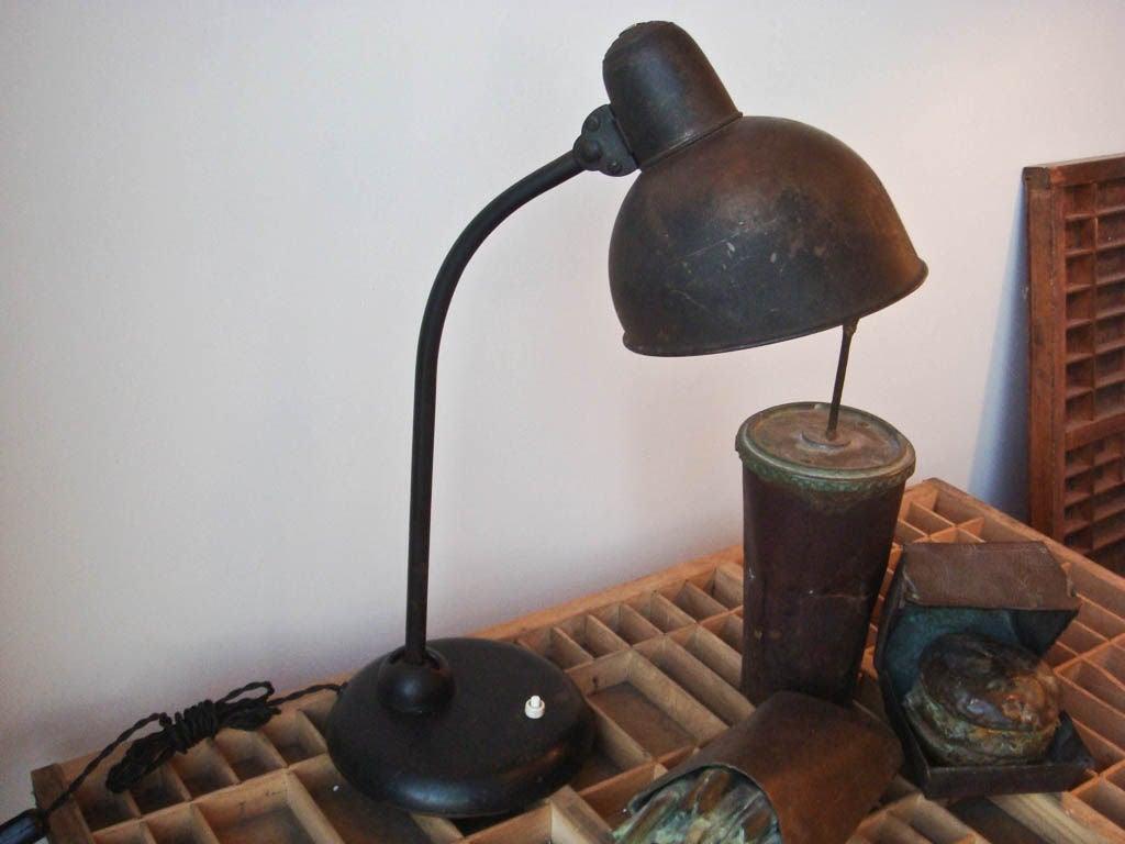 kaiser idell task lamp at 1stdibs. Black Bedroom Furniture Sets. Home Design Ideas