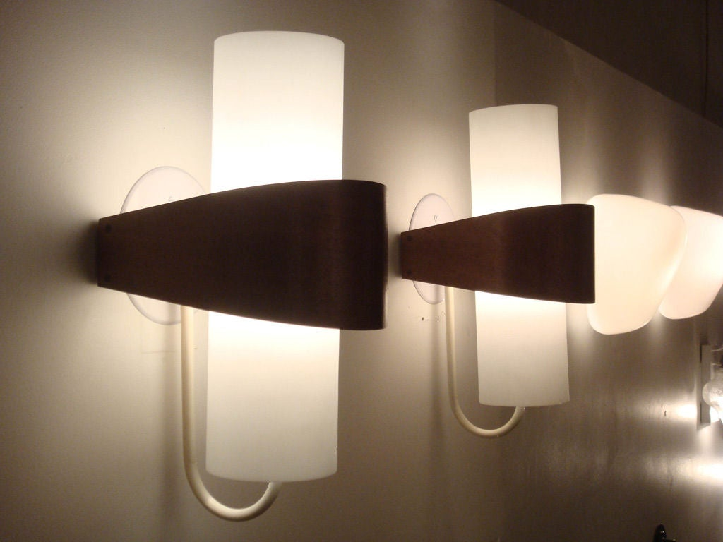 Pair of Philips Wall Lights at 1stdibs